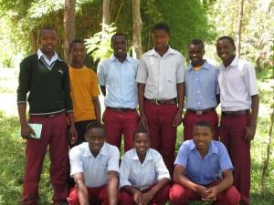 FOTAS-studenten van Katoke Private SeconSchool